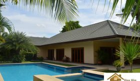 Large Pool Villa with 3 Bed 3 Bath – Hua Hin