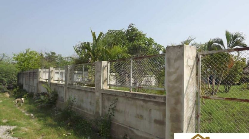 Fenced Land Plot for Sale Central Hua Hin