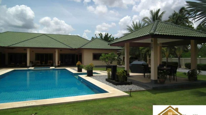 Spectacular 4 Bed Pool Villa On Large Land Plot Hua Hin