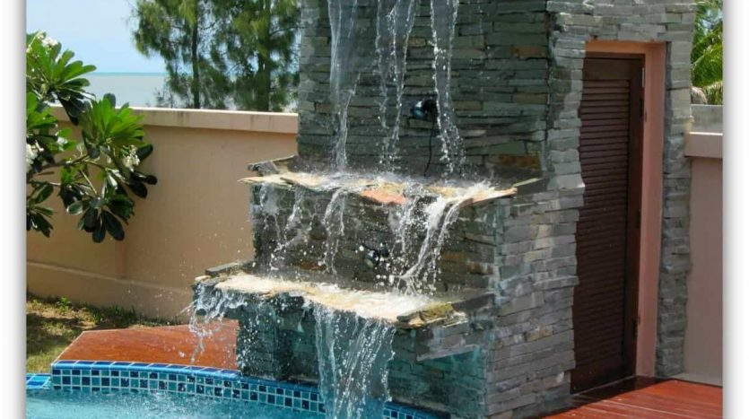 Absolute Beachfront 4 Bed Private Pool Villa in KuiBuri