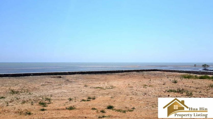 Kuiburi Absolute Beachfront Land For Sale 5 Rai