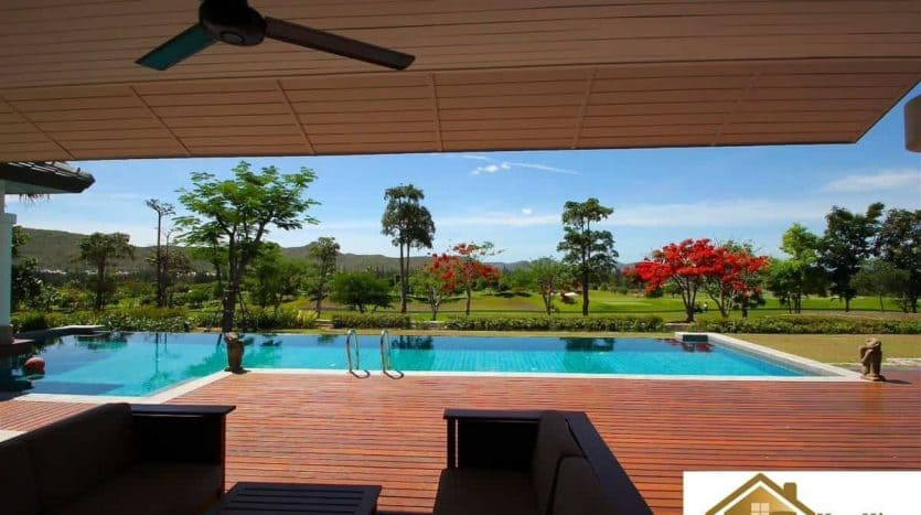 Stunning Golf Course Pool Villa At Black Mountain Hua Hin