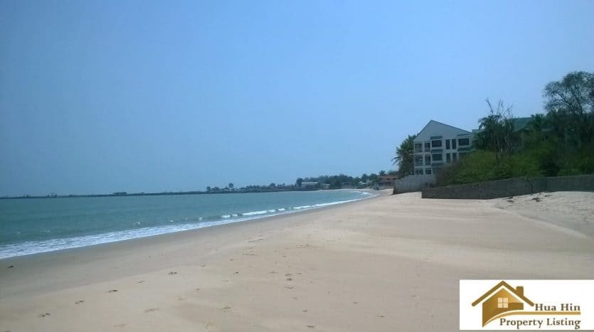 Absolute Beachfront Land For Sale In Cha Am - 5 Rai