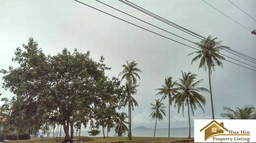 Absolute Beachfront Land For Sale Bang SaPhan 14.5 Rai