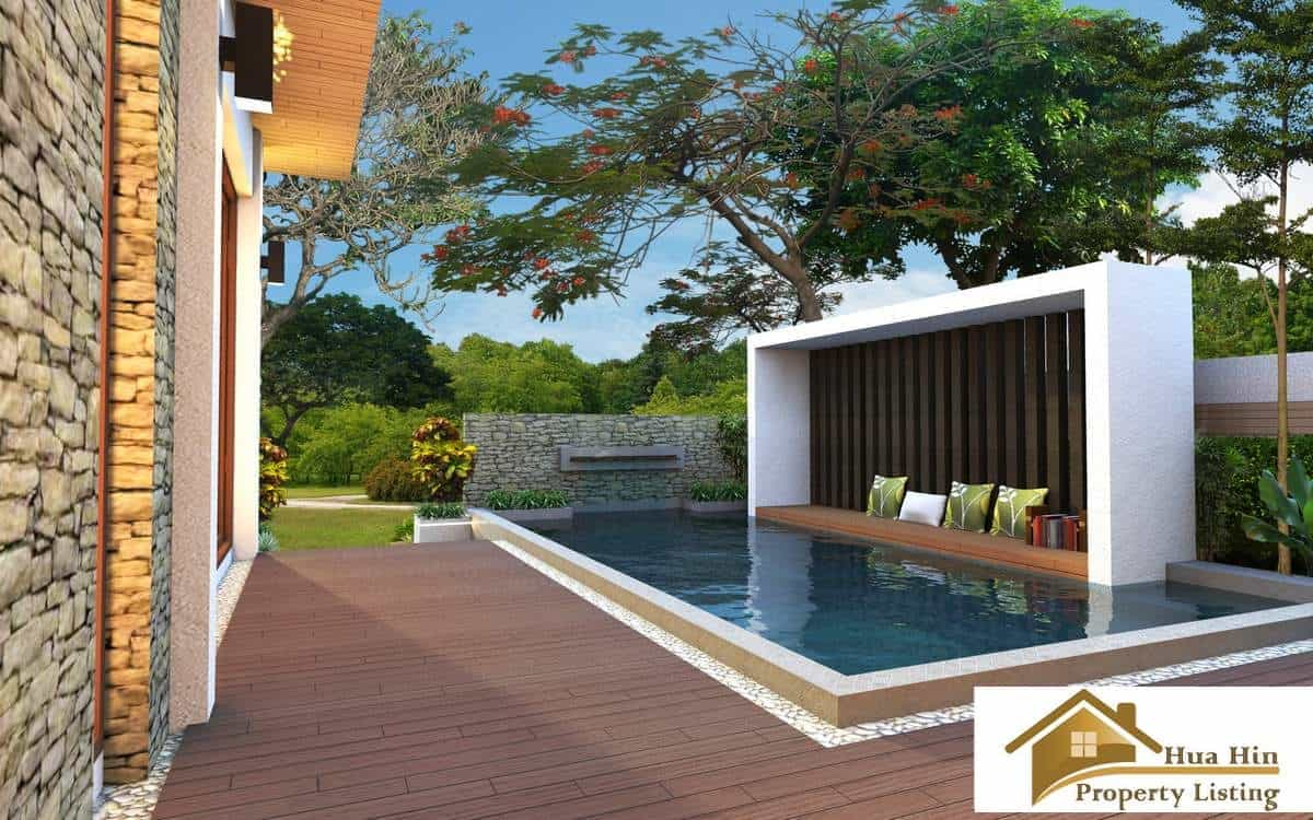 Luxury 2 bed pool villa for sale hua hin for Outdoor furniture hua hin