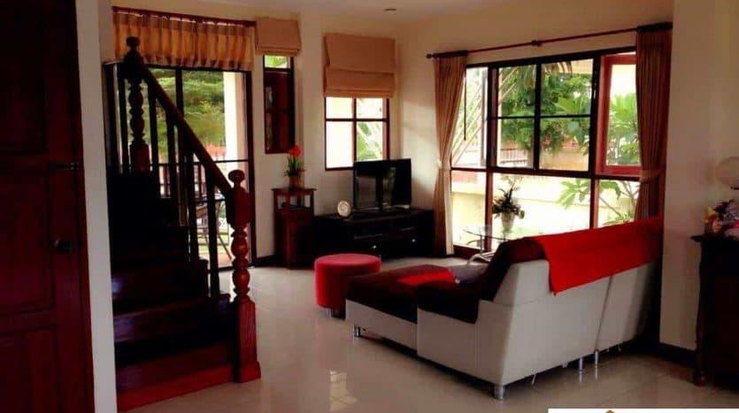 Near Beach 3 Bed Pranburi Villa For Sale In Development
