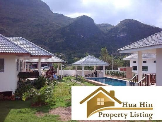 Sam Roi Yot Pool Villa For Sale With Mountain Views