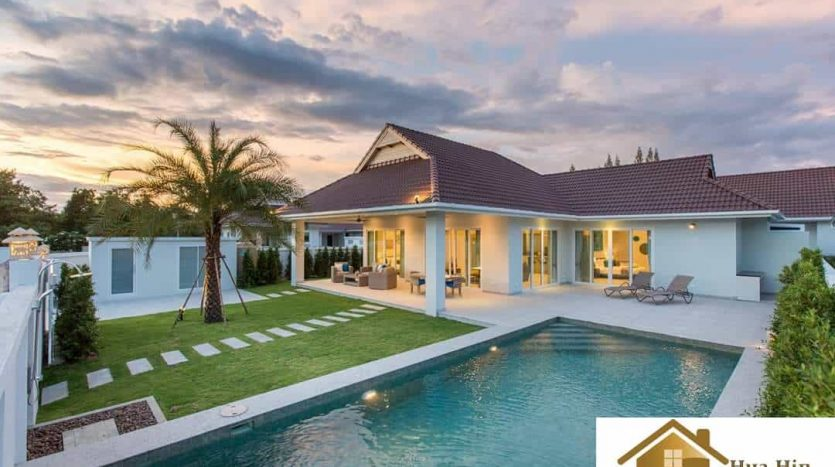 Hua Hin Pool Villa In An Award Winning Development