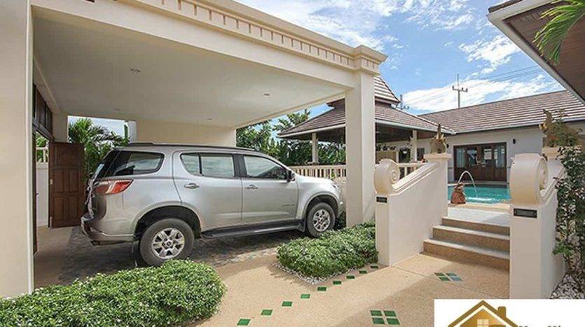 Stunning 4 bed Balinese Style Private Pool Villa Hua Hin