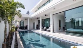 Modern Design Hua Hin Private Pool Villa Offering Stunning Views