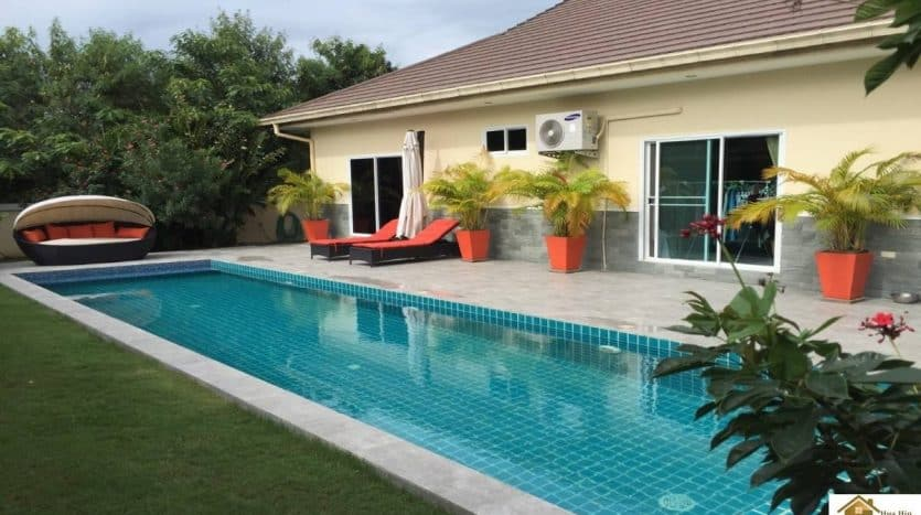 Beautiful Private Pool Villa In A Small & Private Community Hua Hin