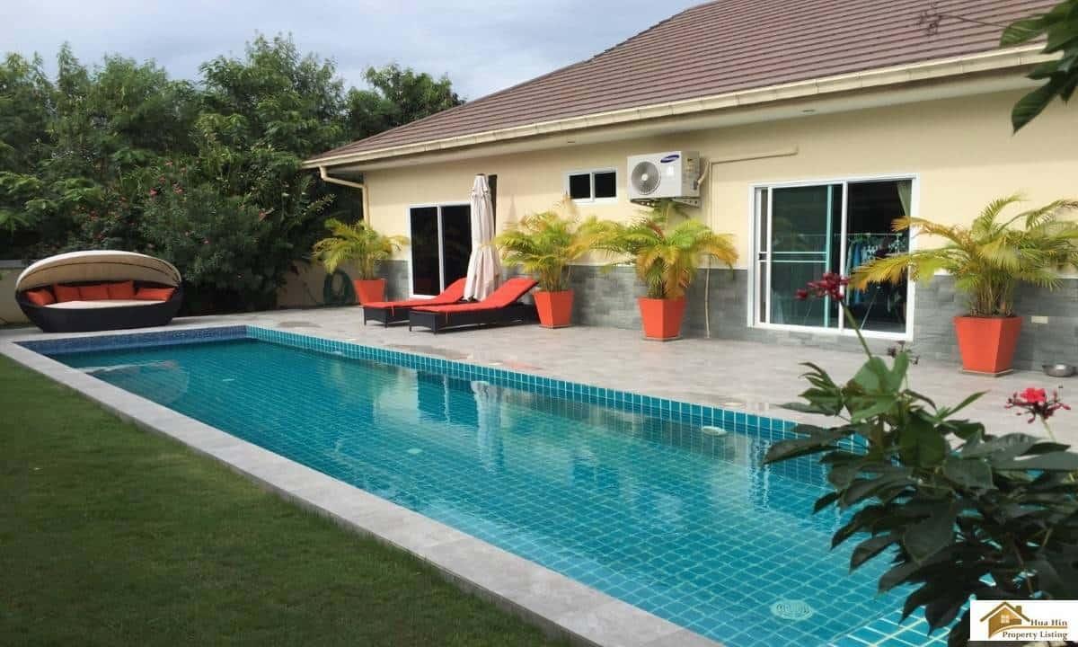 Beautiful Private Pool Villa In A Small Community Hua Hin