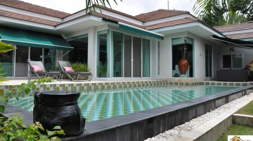 Hua Hin Stunning 4 Bed Private Pool Villa In A Secured Community
