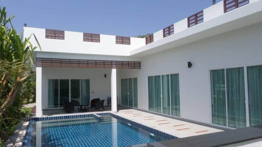 Sivana Garden Hua Hin Resale Pool Villa In Secured Development