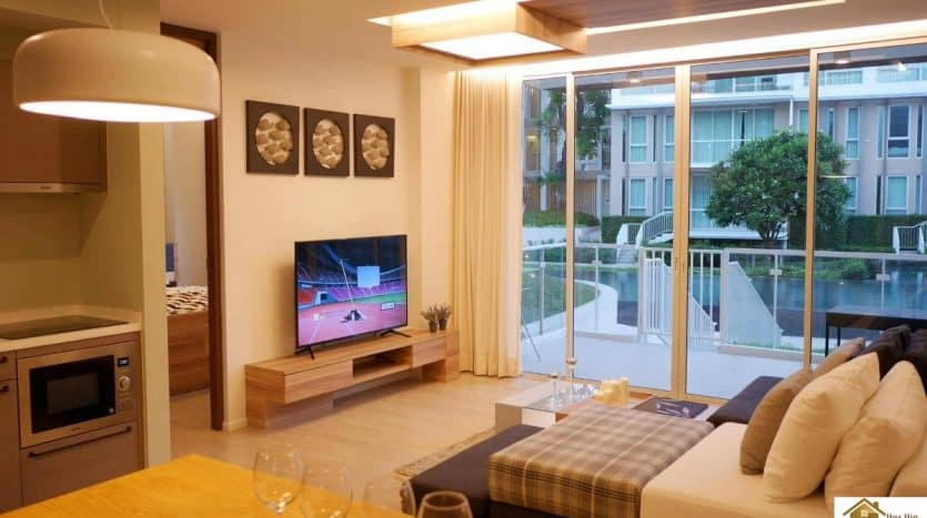 Beautiful Spacious Unit In Wan Vayla Hua Hin – Upscale Luxury Condo
