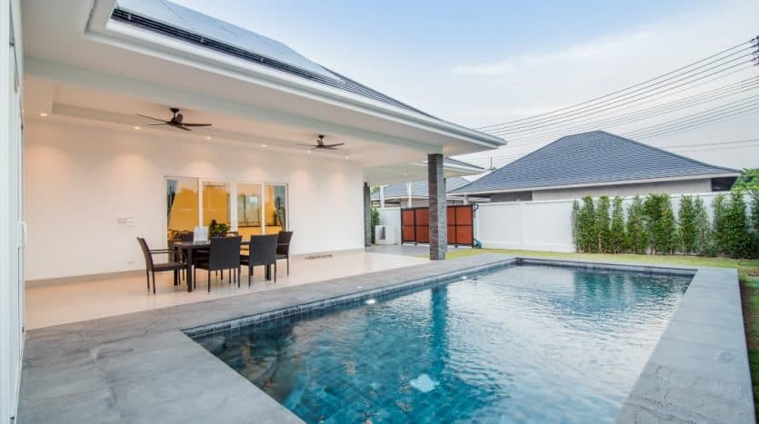Baan Aria Hua Hin – 3 Bed Quality Pool Villas At Affordable Price