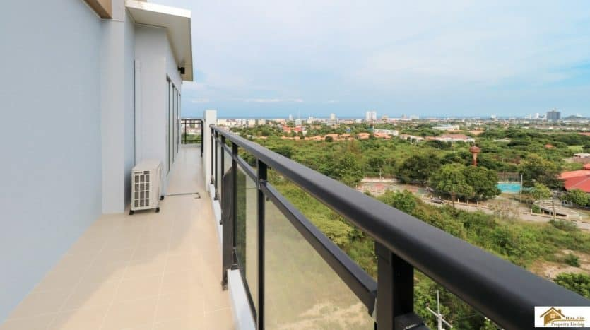 Hua Hin 3 Bed Penthouse With Panoramic Sea / City View