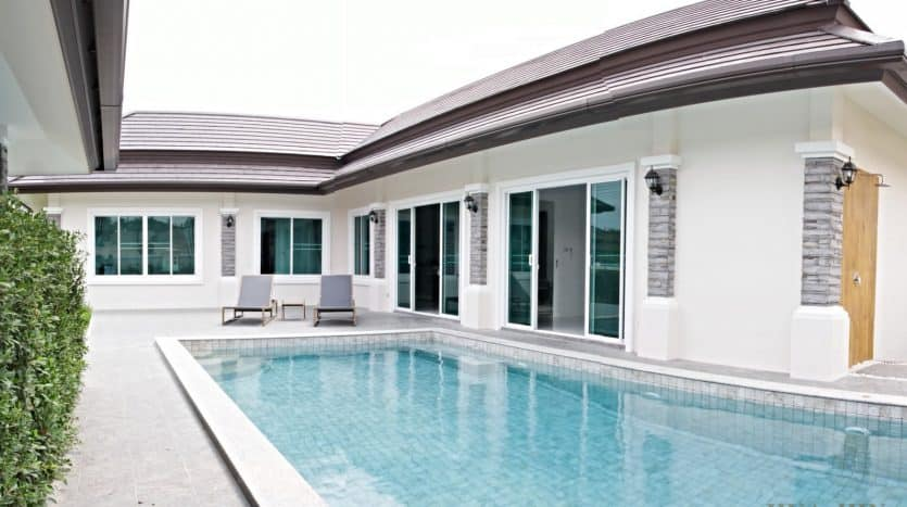 Hua Hin Grand Hill Pool Villa - Brand New Villa Project