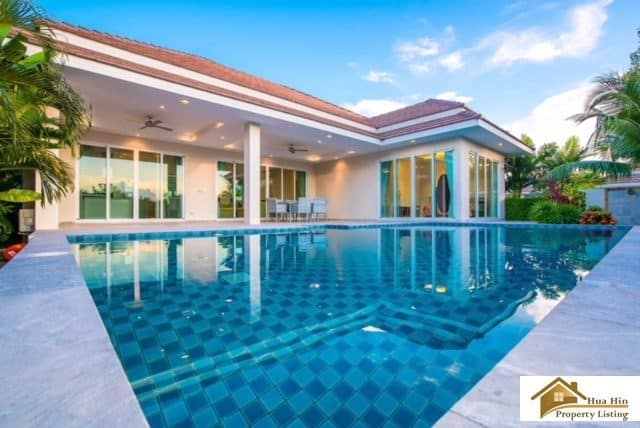 Red Mountain Hua Hin Resale Pool Villa Beautiful Views