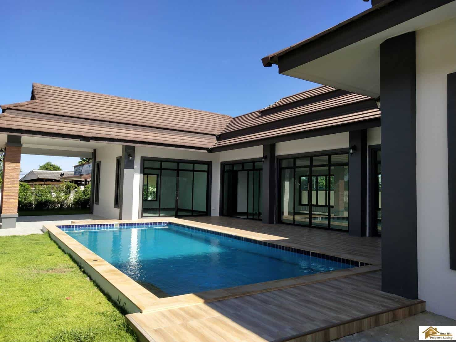Villa For Sale >> Modern Style 3 Bed Pool Villa For Sale Hua Hin