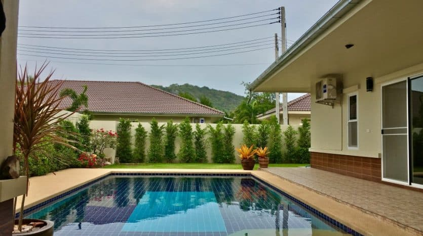 Pool Villa For Sale In Pranburi -1KM From Khao Khalok Beach