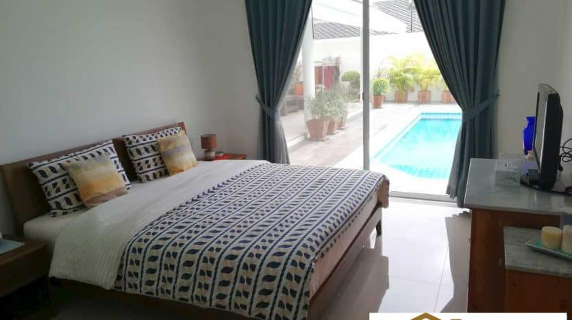 Hua Hin Pool Villa For Sale In Secured Development Near BluPort
