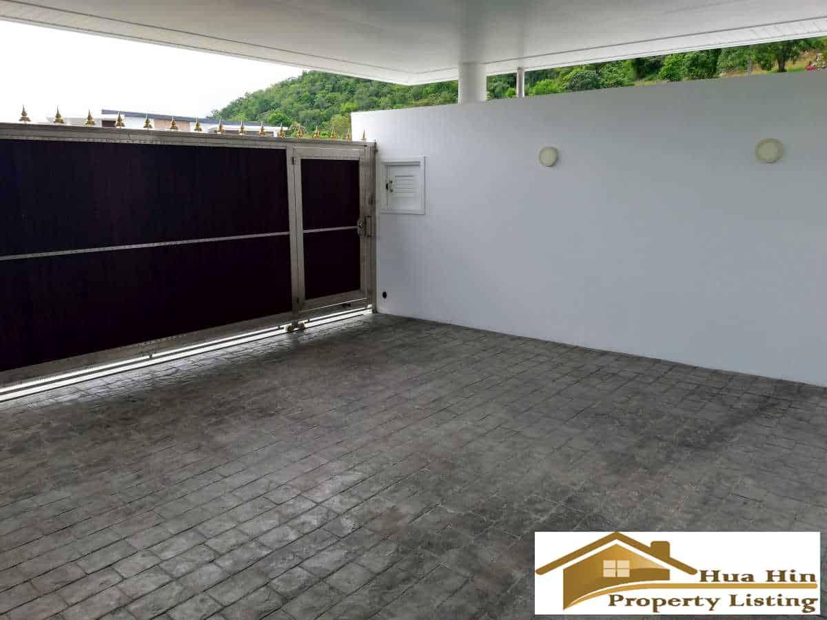 Hua Hin Pool Villa For Sale In Secured Development Near ...