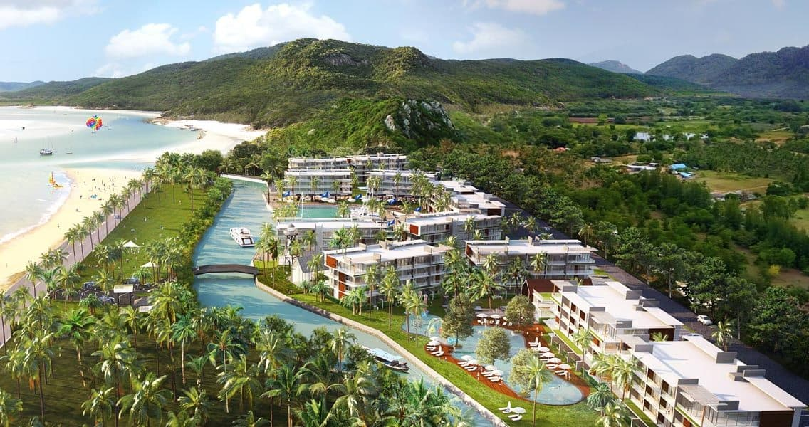 Real estate developments Pranburi Prachuap Khiri Khan Grand Marina