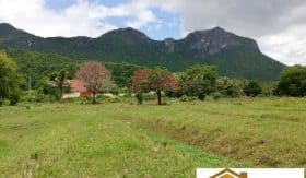 Panoramic Mountain-View Sam Roi Yot 7 Rai Land Plot For Development