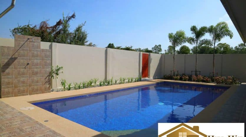 Newly Completed Pool Villa With 3 Bed 4 Bath 1KM From Khao Kalok Beach