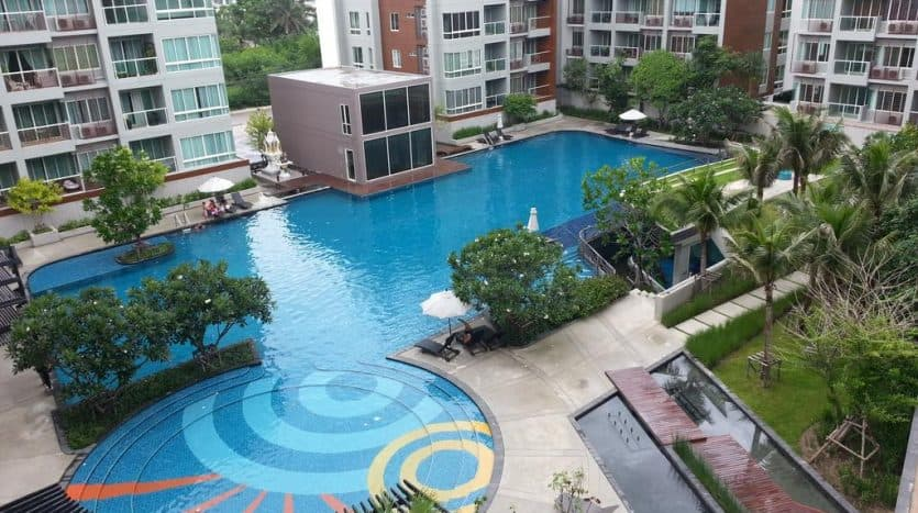 Ready To Move-in 2 Bed 2 Bath Condo For Sale In The Seacraze Hua Hin