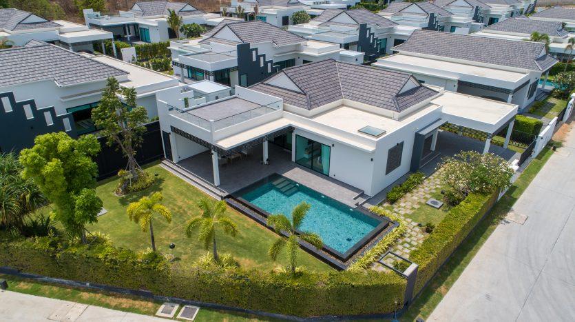 Sivana HideAway Project Brand New Private Pool Villa For Sale Hua Hin