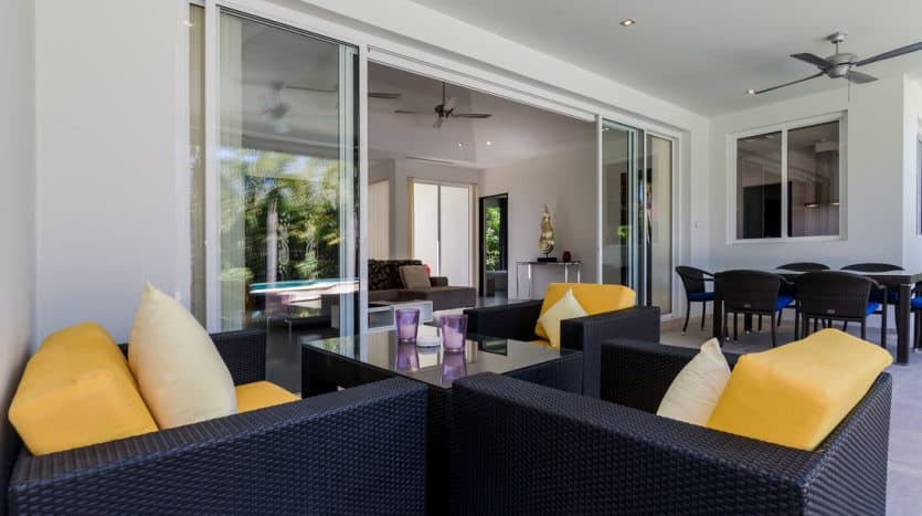 Baan Ing Phu Private Estate Pool Villa For Sale Hua Hin Development