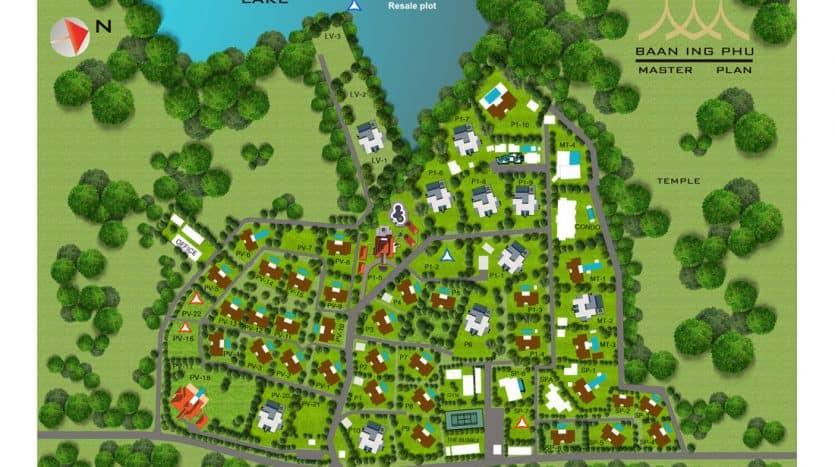 Baan Ing Phu Hua Hin Land For Sale 1075 SQM.
