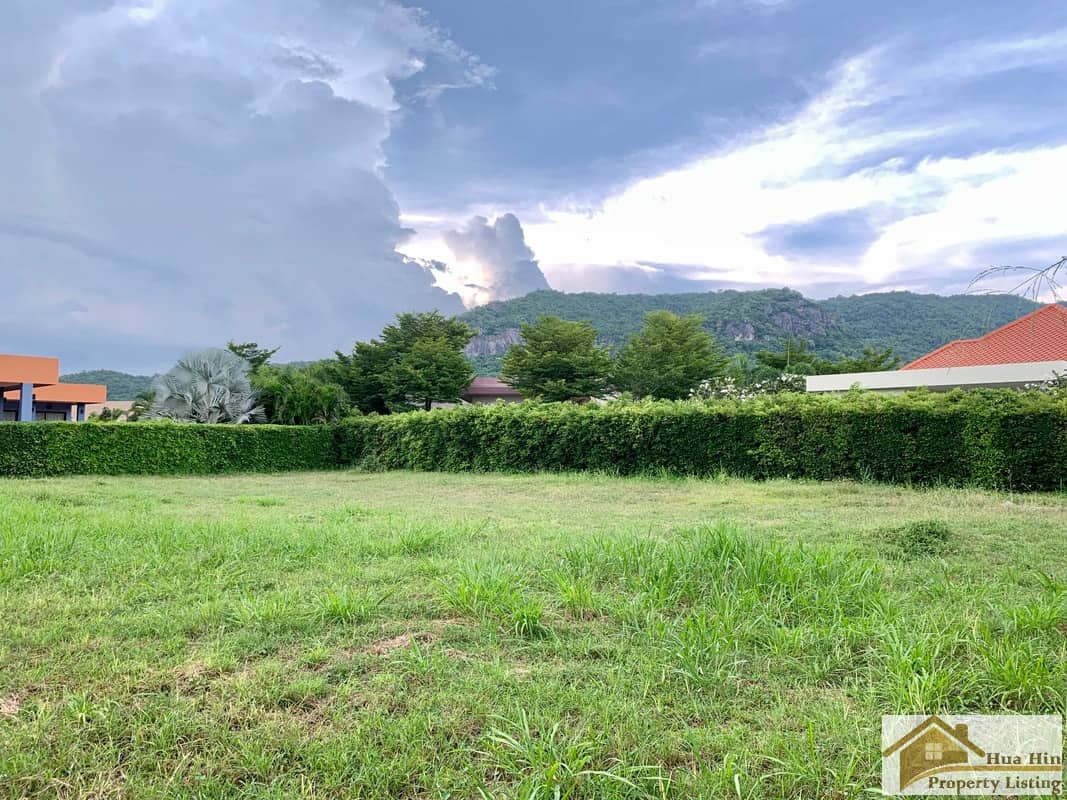 Baan Ing Phu Hua Hin Land Plot For Sale 1146 SQM.