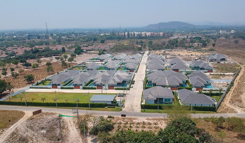 Baan Aria Luxury Villa For Sale In Hua Hin Residential Development