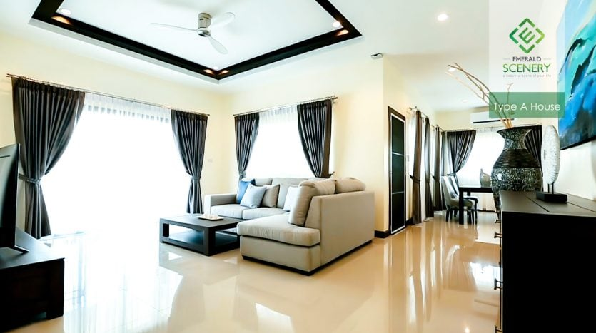Emerald Scenery Residential Homes For Sale In Hua Hin (Type A)